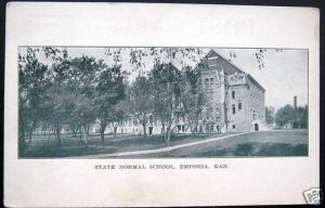 Kansas State Normal School-Emporia, KS