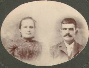 Isaac Ashlock and his sister Sarilda. (photo from the collection of Gail Lee Martin)