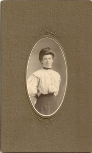 Inez Blanche Wise Vining graduation from Normal