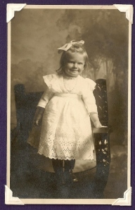 Bernice Vining age 21 mos. 1912
