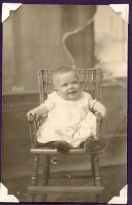 James Vining age 6 mos. 1915