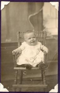 James Vining age 6 mos. 1915