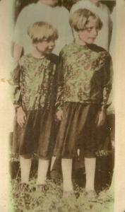 Mildred Naomi and Bertha Lorene Vining