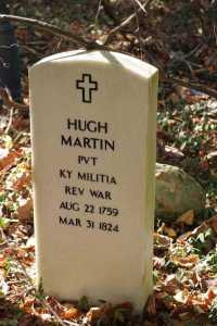 hugh m. martin grave - photo from william martin ancestry