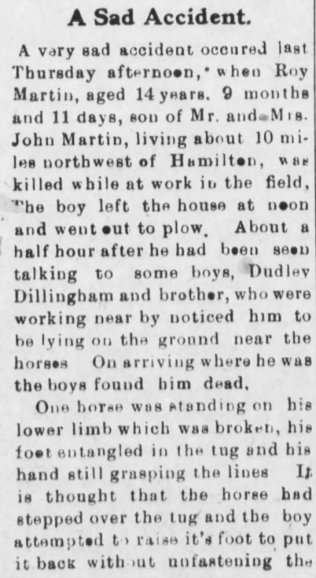 part 1 death of roy martin