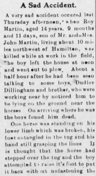 part 1 death of roy martin