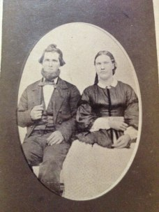 George Washington Joy and first wife, Dacy Richards