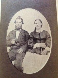 George Washington Joy and first wife, Dacy Richards