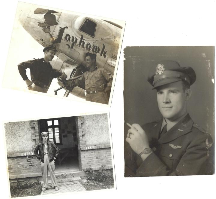 Ralph Edward Martin in WWII