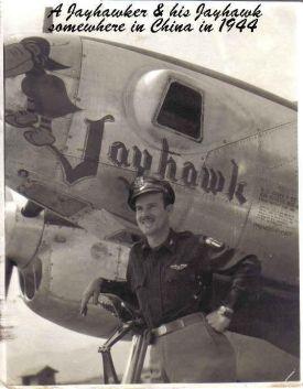 ralph martin and plane 1944