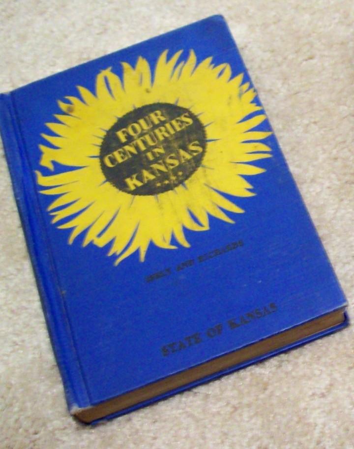 Kansas reader & history books (2)