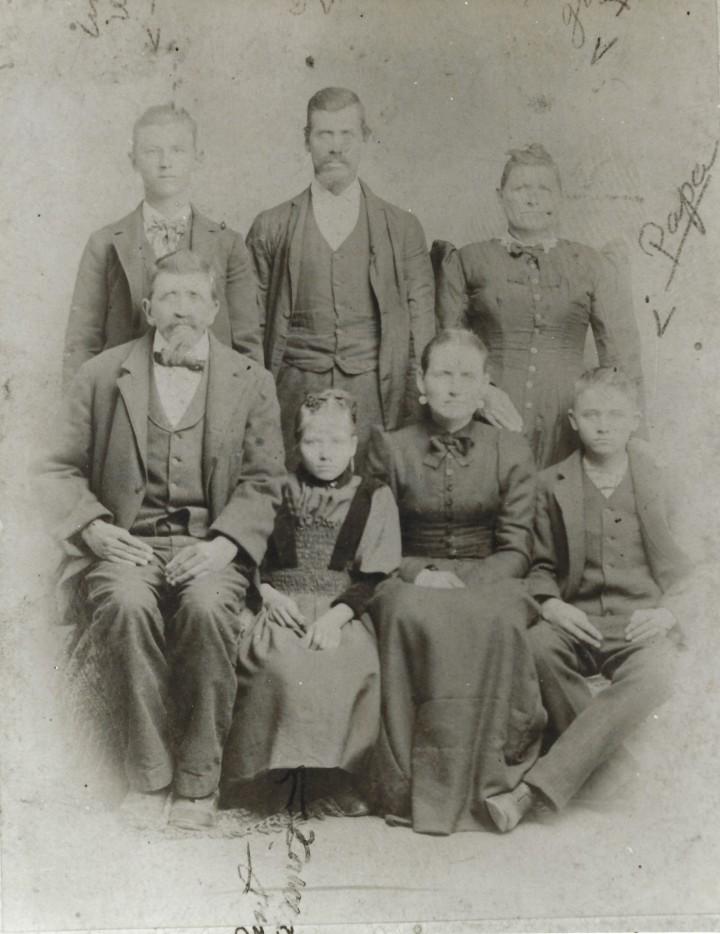Robert David Mcghee & family 1890s