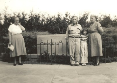 june 1955 road trip to homeplace