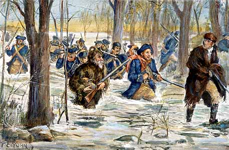 March_to_Vincennes clark expedition hugh martin