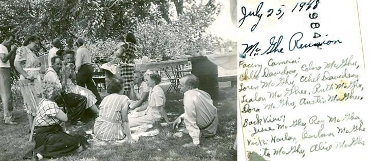 1948 mcghee reunion ruth dora
