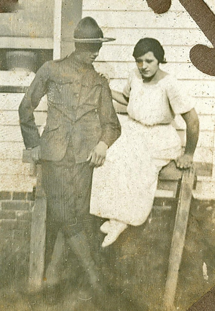 Clarence and ruth 1918