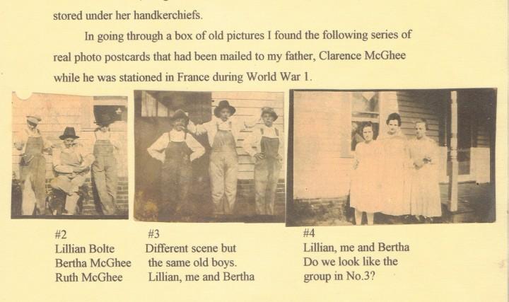 Lillian bolte, bertha and ruth funny