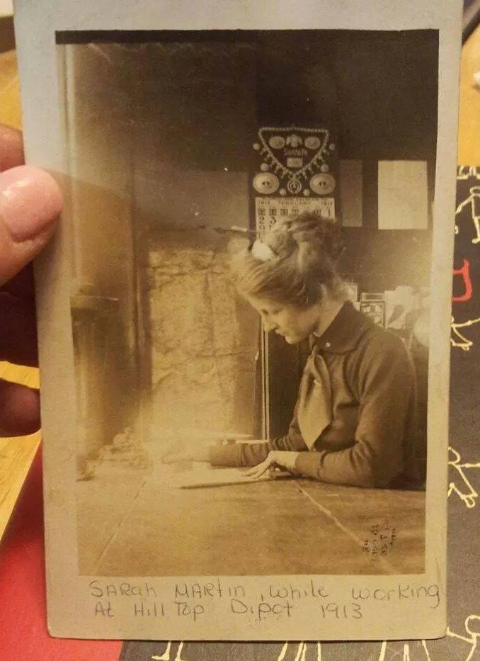 Sarah Martin 1913