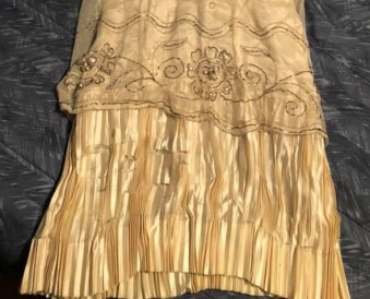 lorna's pleated underskirt - antique dress