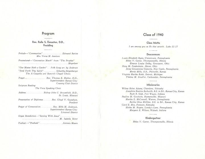 NTS graduation program bertha