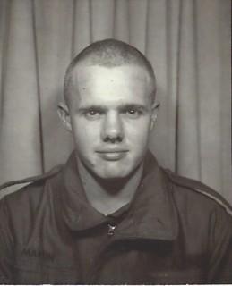 owen martin - army haircut