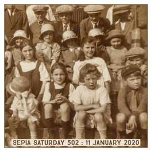 Sepia Saturday Prompt Image 502 : 11 January 2020