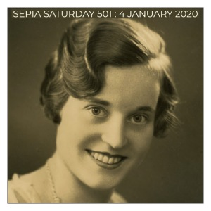 Sepia Saturday Prompt Image 501 : 4 January 2020