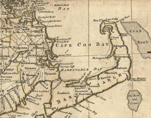 1776 map Hingham, Weymouth - library of congress