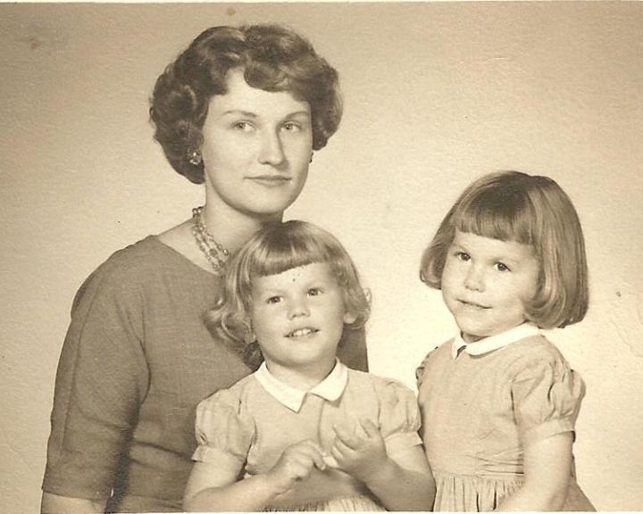 barbara mcghee Fischer with Sondra and Diane