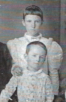 mystery girl - maybe Bessie vining and brother jake