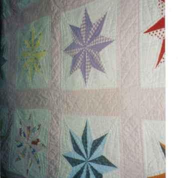 vicki's quilt from grandma cora joy martin