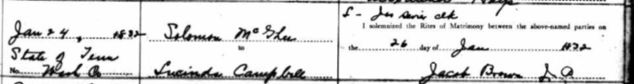 Ancestry com - Tennessee Marriage Records 1780-2002 mcghee & campbell