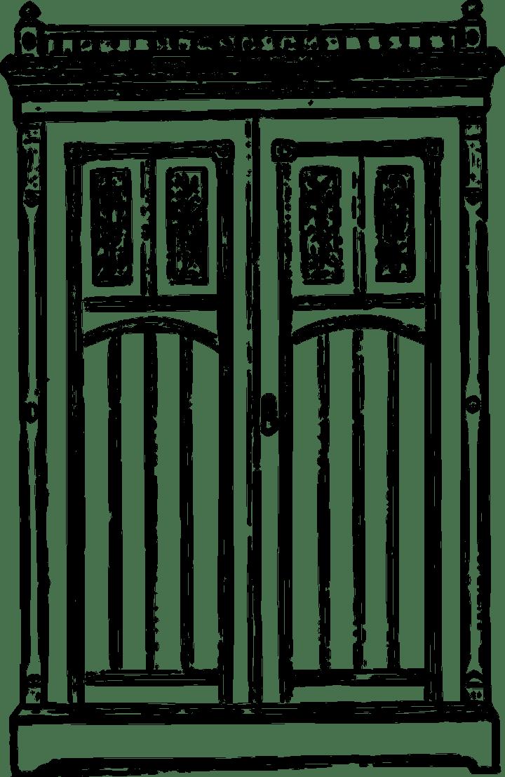 antique-wardrobe, pixabay