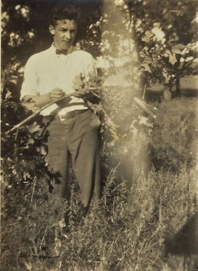 jesse mcghee by tree