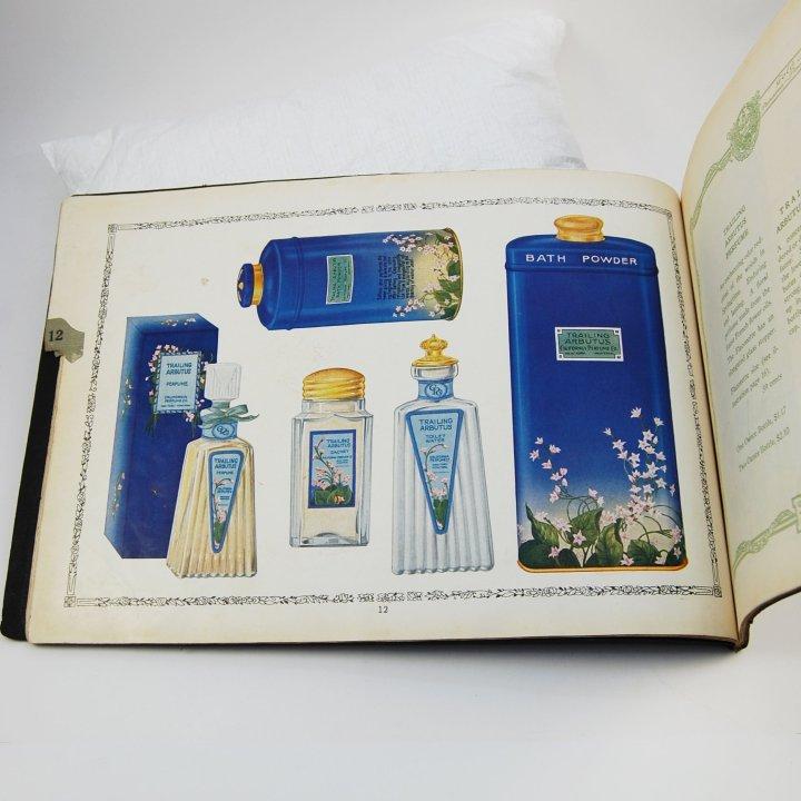 california perfume company catalog page