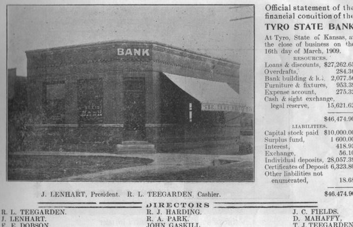 bank tyro